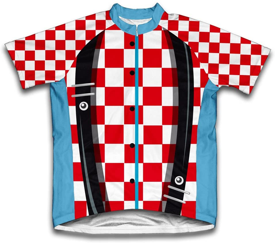 ScudoPro Excellence Rodeo Charlotte Mall Clown Short Sleeve Youth Jersey for Cycling
