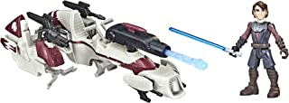 Star Wars Mission Fleet Expedition Class Anakin Skywalker BARC Speeder Strike 2.5-Inch-Scale Figure and Vehicle for Kids A...