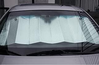 king's store,Sunshade UV Heat Insulation Sun (Silver) Car Sunshade - Solar Reflective Silver Keeps Vehicle Cool - Jumbo Sun Shades Block UV Rays - Front Car Sunshade Windshield