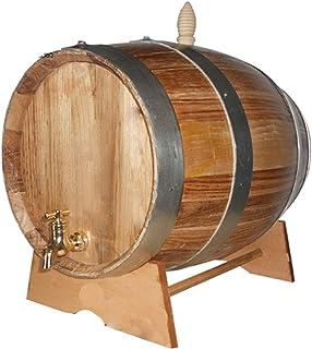 10L Tonnelet Artisanat Fût Tonneau tonneaux Bois litres Fûts de vin