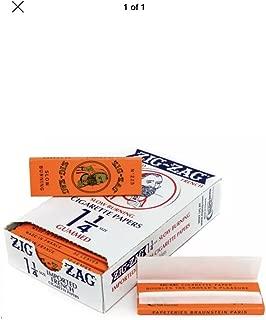 Zig-zag Orange Cigarette Papers Slow Burning 6 Count