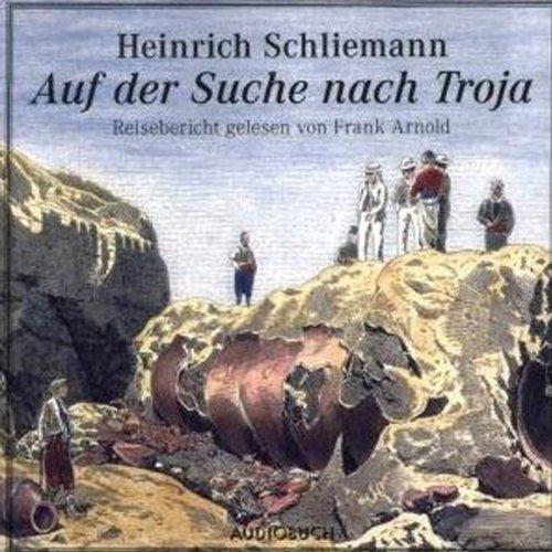 Auf der Suche nach Troja audiobook cover art