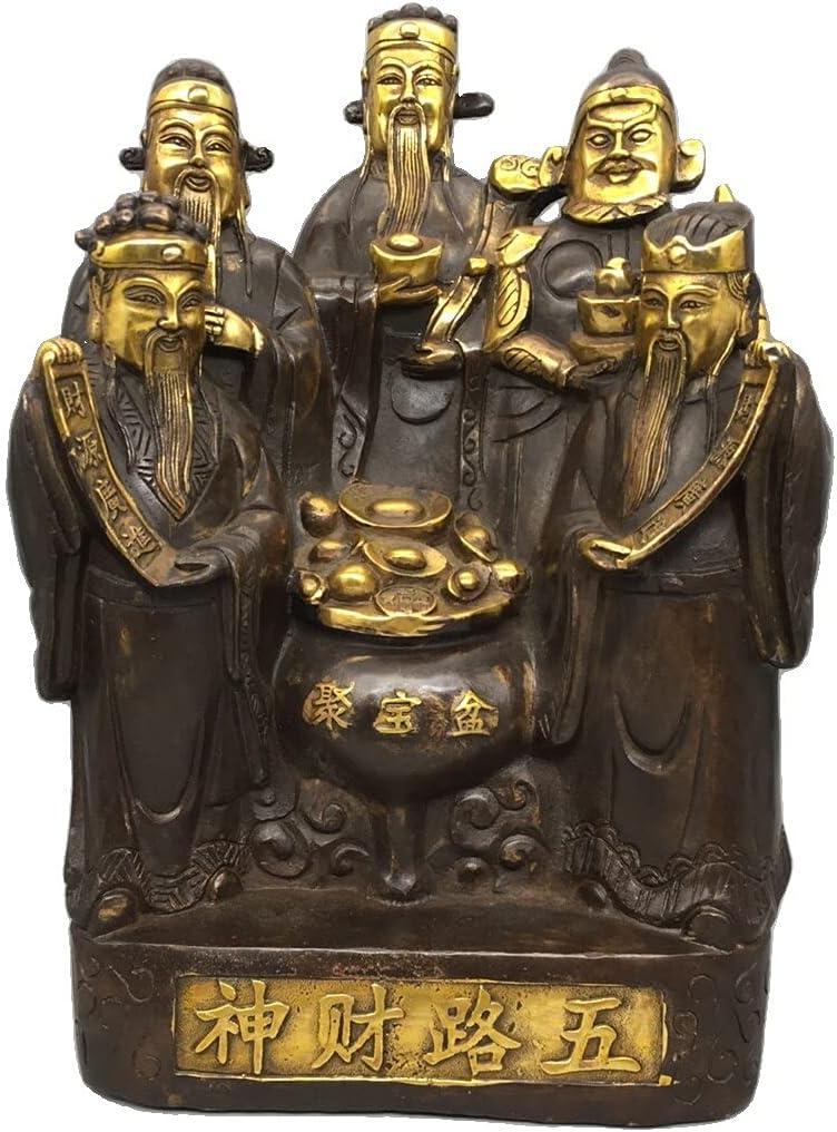 LAOJUNLU Antique Bronze Collection Exqu Fortuna Ornaments Dawulu Purchase Price reduction