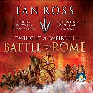 Battle for Rome                   By:                                                                                                                                 Ian Ross                               Narrated by:                                                                                                                                 Jonathan Keeble                      Length: 13 hrs and 27 mins     88 ratings     Overall 4.7