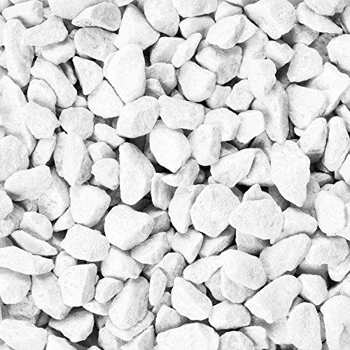 Eurosand–Tasche Steine 9–13mm weiß 1kg