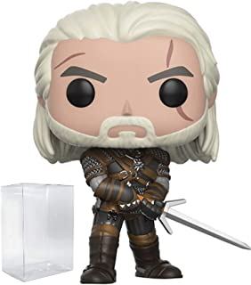 Funko Pop! Games: The Witcher - Geralt Vinyl Figure (Includes Compatible Pop Box Protector Case)