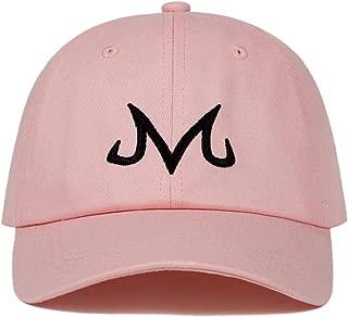 Kargear 2019 Brand Majin Buu Dad Hat Cotton Baseball Cap for Men Women Hip Hop Snapback Adjustable Fashion Sports Hunting Jungle Cap Pink One Size Fits Most