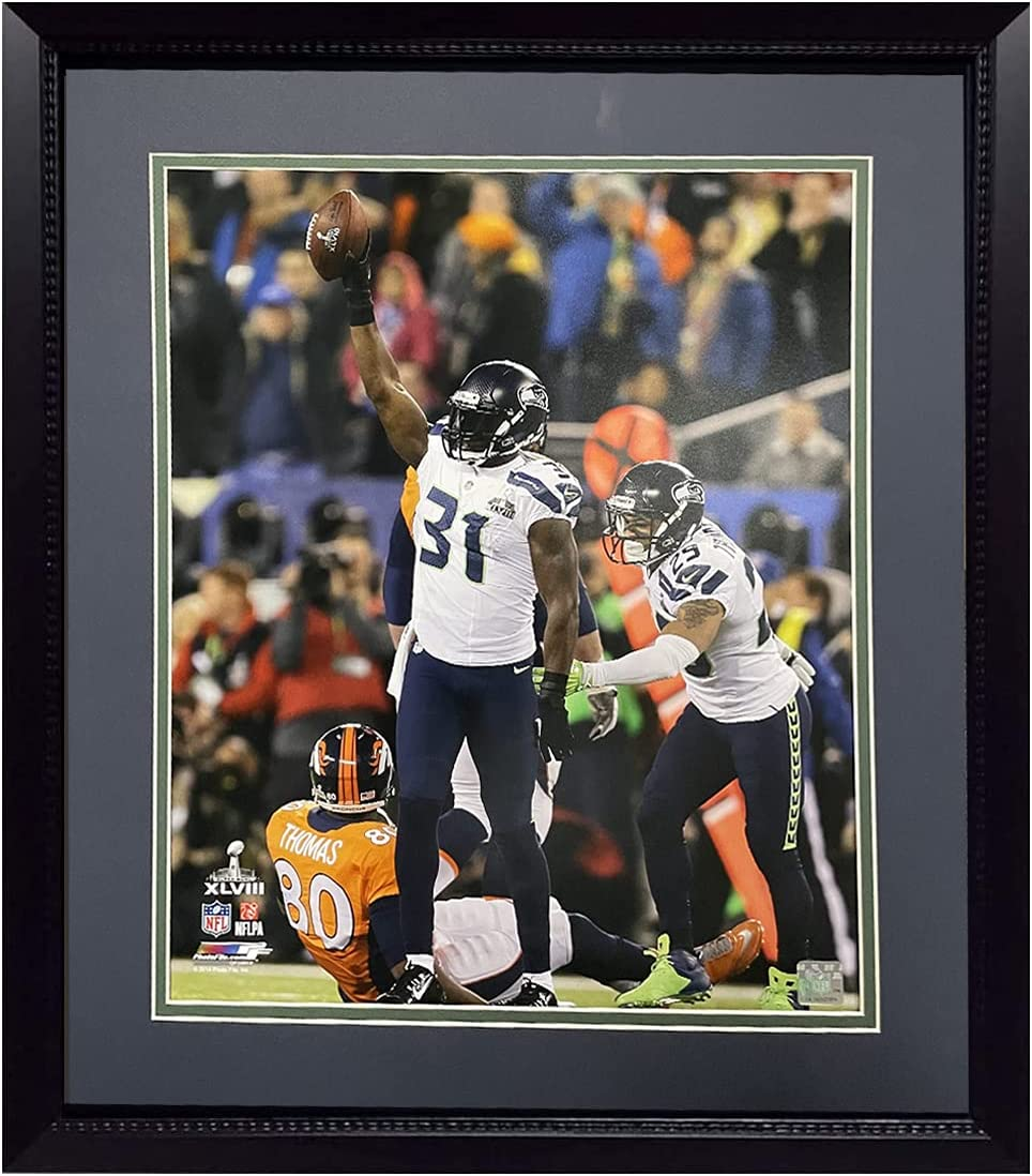 20x24 Framed NFL Photos Ph All items free shipping Chancellor Seahawks Kam specialty shop