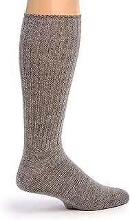 Women's Ribbed Casual Everyday Alpaca Wool Crew Socks