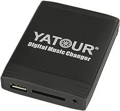 YATOUR Car CD Changer MP3 Digital Music USB SD CDC Connector Interface for VW Volkswagen Golf Polo Passat Jetta Touran Touareg /SKODA Octavia Fabia/AUDI A3 A4 TT 12 pin