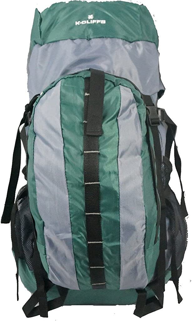 K-Cliffs 53L Medium Hiking Backpack Daypack A Product Camping Deluxe w Internal
