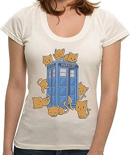 - Camiseta Cats Cabin - Feminina