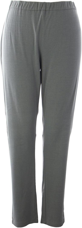 Marina Rinaldi Women's Optical Lounge Pants XXLarge Grey