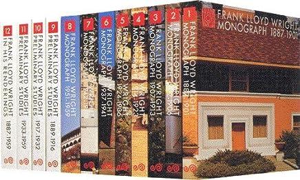 Frank Lloyd Wright Monograph 12Vols. (Frank Lloyd Wright Monograph, Volumes 1 -12)