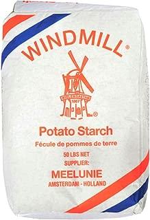 Holland Windmill Potato Starch 荷兰风车牌生粉 50 LB