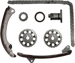 Engine Timing Chain Kit Head Gasket Set TK2024,13523-0D010, 13521-0D010, 13506-0D010, 13540-22020, 13561-22020, 13559-0D010,For 1998 1999 Toyota Corolla Chevrolet Prizm 1.8L/DOICOO