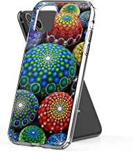 Crystal Clear Phone Cases Jewel Drop Mandala Stone Collection #1 Case Cover Compatible for iPhone (11 Pro)