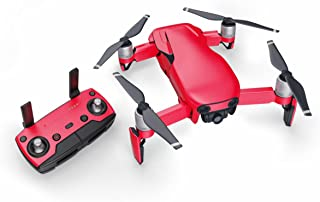 Solid State Red 51 Piece Decal Kit for DJI Mavic Air Drone - Includes Drone Skin, Controller Skin and 3 Battery Skin