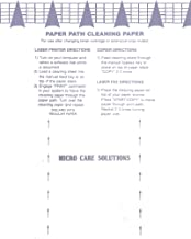 Microcare Laser Printer Cleaning Sheet (8.5 x 11