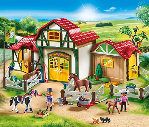 The Horse Farm is a favorite new Playmobil set set