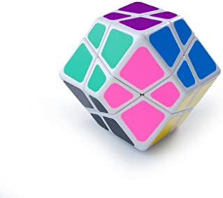 LanLan 4-Axis Skewb Rhombic Dodecahedron Cube Twist Puzzle Brain Storm Toy White .HN#GG_634T6344 G134548TY69208