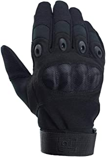 TG Hellfox Gloves Tactical Hard Knuckle for Military Cycling Camping Combat Police