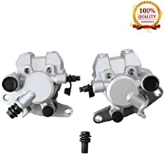 Front Brake Caliper Set for Yamaha YFM250 YFM350 YFM400 YFM450 YFM660, Honda TRX250EX TRX300EX TRX400EX, Suzuki Vinson 500 Eiger 400 (Left + Right)