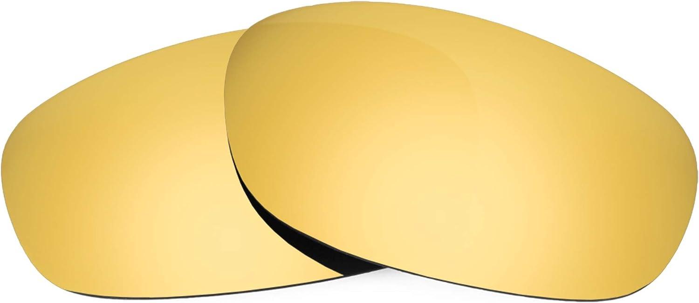 Revant Verres de Rechange pour Arnette Heist - Compatibles avec les Lunettes de Soleil Arnette Heist Or Mirrorshield - Polarisés