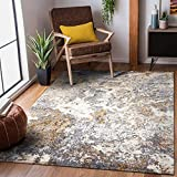 Luxe Weavers Rug – Persian Rugs 6490 Abstract Area Rug – Modern Design, Medium Pile, Gray / Size 9 x 12