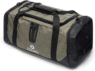 Travel Bag Outdoor Travel Luggage Bag Large-Capacity Leisure Oxford Cloth Bag Multi-Function Shoulder Portable Messenger Bag QDDSP (Color : Brown)