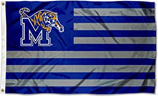 Memphis Tigers Stars and Stripes Nation Flag