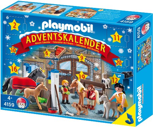 PLAYMOBIL 4159 - Adventskalender Reiterhof 2021
