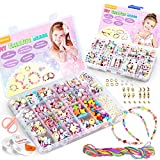 WinWonder Bricolage Perles Set,1150 PCS Bracelets Bricolage