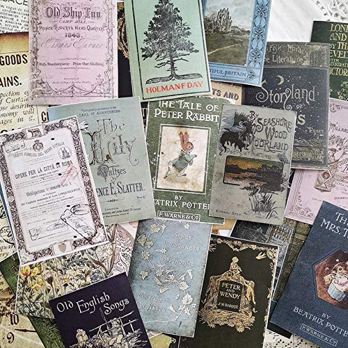 BYFRI Gebrauchte Buchdeckel Material Papier Junk-Journal-Planer Craft Papier Scrapbooking Weinlese-dekorative Aufkleber Craft Fotoalbum