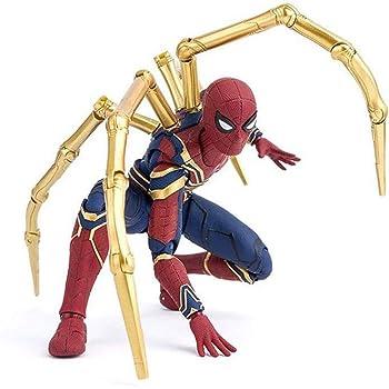 Mei Xu アベンジャーズ・インフィニティ・ウォー・アイアン・スパイダー15cm BJDスパイダーマン・スーパーヒーローフィギュアおもちゃ ゲームモデル