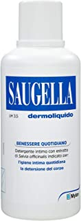 Saugela - Dermoliquido - Jabón para la higiene intima - 500 ml