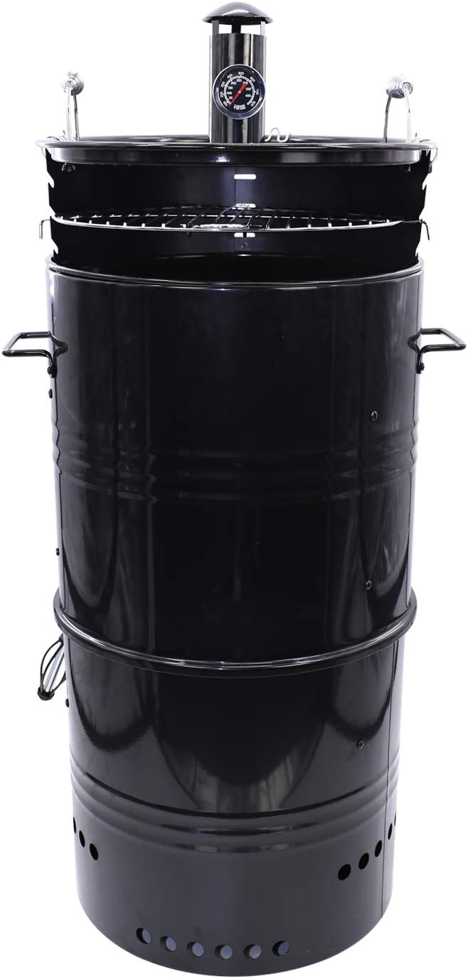 Hakka 20-Inch Multi-Function Barbecue and Charcoal Smoker Grill
