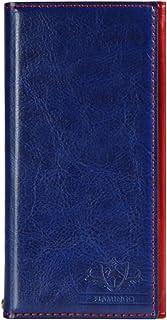 Natural Design FLAMINGO 手帳型 4.7インチ対応 (iPhone6/6s) ブルー (カードポケット&ハンドストラップ付)