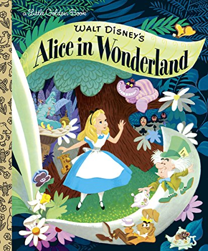 Walt Disney's Alice in Wonderland (Disney Classic) (Little Golden Books)