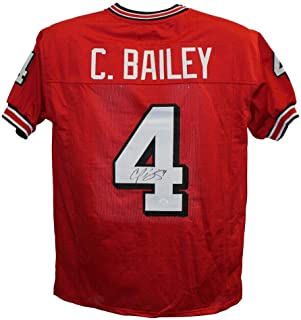 Best signed champ bailey jersey Reviews