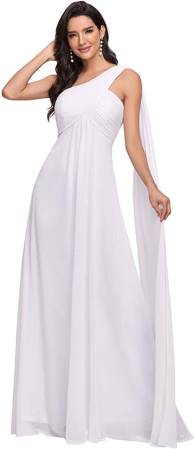 Ever-Pretty Women's One-Shoulder Evening Gown 09816