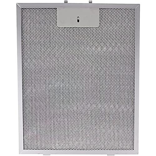 SPARES2GO Filtro de grasa de metal compatible con campana extractora Bosch (310 mm x 250 mm)
