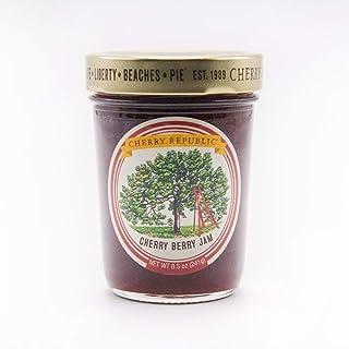 Cherry Republic Cherry Jam - Generous Chunks of Michigan Tart Cherries - 9 oz Jar