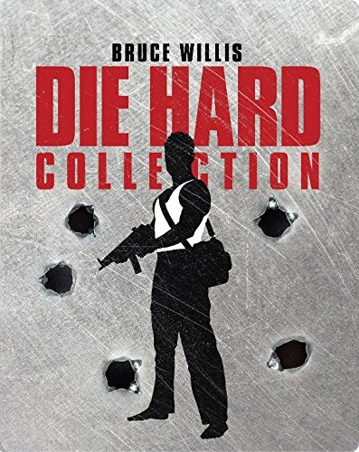 Die Hard 1-5 Collection SteelBook Blu-Ray & Digital Exclusive Limited Edition