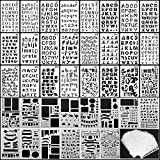 39PCS Letter and Number Stencils , for Journal DIY Drawing...