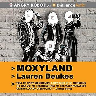 Moxyland audiobook cover art
