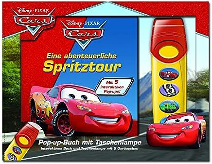 Eine abenteuerliche Spritztour - Disney·Pixar Cars - Pop-up-Buch mit Taschenlampe - Bilderbuch mit 5 coolen Sounds für hochtourigen Spaß!