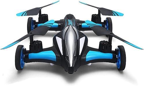 SKY-Toys Jouets pour Enfants Avion à Quatre Course télécomhommedée Drone bi-Mode Route et Ciel Retour à Un Bouton Vol Roulant Cadeau pour Les Enfants