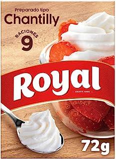 comprar comparacion Royal - Crema Chantilly, Preparado en Polvo - 9 Raciones, 72 g