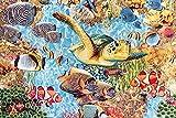Jacquard Gobelin Korallenriff — Meterware ab 0,5m — zum Nähen von Outdoor Deko, Kissen/Tagesdecken & Tischdekoration
